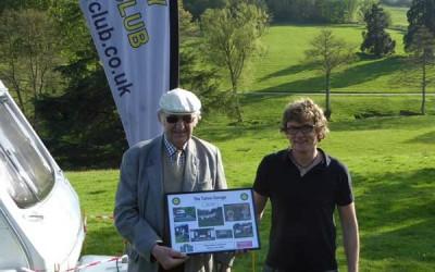 Torbay Motor Club Presentation At Wiscombe Hill Climb